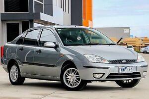 2003 Ford Focus LR MY2003 LX Silver 5 Speed Manual Sedan Pakenham Cardinia Area Preview