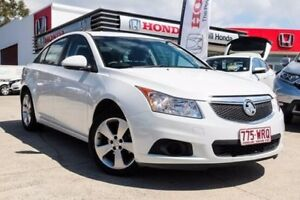 2013 Holden Cruze JH Series II MY13 Equipe Heron White 6 Speed Sports Automatic Sedan Noosaville Noosa Area Preview
