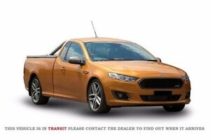2015 Ford Falcon FG X XR6 Ute Super Cab Turbo Gold 6 Speed Sports Automatic Utility Midland Swan Area Preview