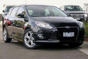 2014 Ford Focus LW MKII MY14 Sport Black 5 Speed Manual Hatchback Ringwood East Maroondah Area Preview