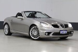 2005 Mercedes-Benz SLK R171 55 AMG Cubanite Silver 7 Speed Automatic G-Tronic Convertible Bentley Canning Area Preview