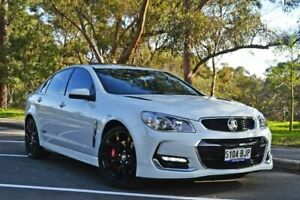 2016 Holden Commodore VF II MY16 SS V Redline White 6 Speed Sports Automatic Sedan Medindie Walkerville Area Preview