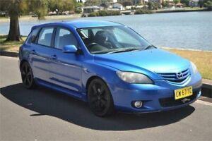 2005 Mazda 3 BK SP23 Blue 5 Speed Manual Hatchback Five Dock Canada Bay Area Preview
