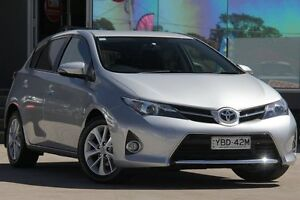 2013 Toyota Corolla ZRE182R Ascent Sport Silver 6 Speed Manual Hatchback Old Guildford Fairfield Area Preview
