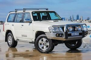 2012 Nissan Patrol Y61 GU 8 ST White 4 Speed Automatic Wagon Osborne Park Stirling Area Preview