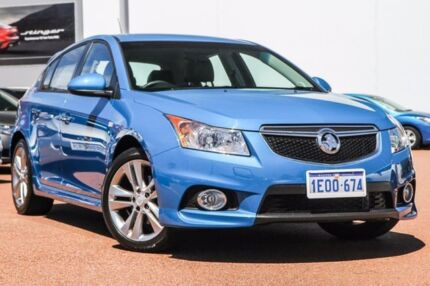2014 Holden Cruze JH Series II MY14 SRi Z Series Perfect Blue 6 Speed Sports Automatic Hatchback