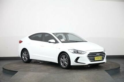 2016 Hyundai Elantra AD Active 2.0 MPI White 6 Speed Automatic Sedan Smithfield Parramatta Area Preview