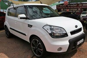 2009 Kia Soul AM 3.0 White 4 Speed Automatic Hatchback Minchinbury Blacktown Area Preview