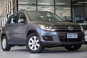 2013 Volkswagen Tiguan 5N MY13.5 132TSI DSG 4MOTION Pacific Grey 7 Speed Myaree Melville Area Preview