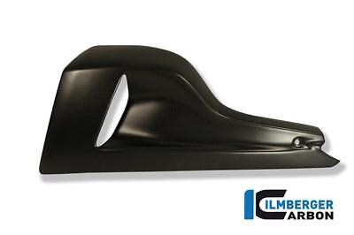 Ilmberger Carbon Fibre Matt Bellypan Covers Pair Ducati Diavel 1200 2012