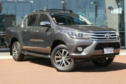 2015 Toyota Hilux GUN126R SR5 Double Cab Graphite 6 Speed Sports Automatic Utility Osborne Park Stirling Area Preview