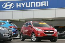 2011 Hyundai ix35 LM MY11 Elite (AWD) Red 6 Speed Automatic Wagon Arncliffe Rockdale Area Preview