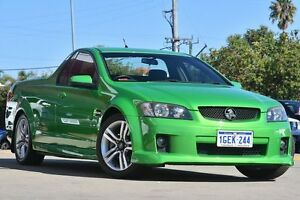 2008 Holden Commodore VE SS Green 6 Speed Manual Utility Victoria Park Victoria Park Area Preview