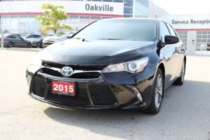 2015 Toyota Camry Hybrid SE w/Backup Camera, Heated Seats and Bl