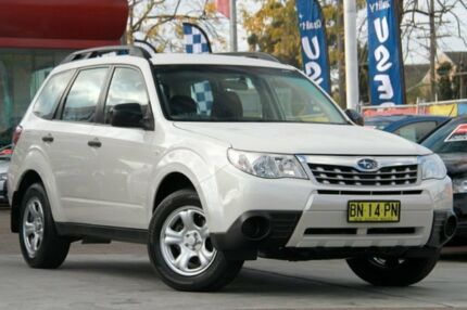 2012 Subaru Forester MY12 X White 4 Speed Auto Elec Sportshift Wagon Waitara Hornsby Area Preview