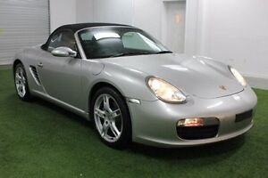 2007 Porsche Boxster 987 MY07 Silver 5 Speed Sports Automatic Convertible Moonah Glenorchy Area Preview