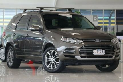 2012 Ford Territory SZ Titanium Seq Sport Shift Gold 6 Speed Sports Automatic Wagon Dandenong Greater Dandenong Preview