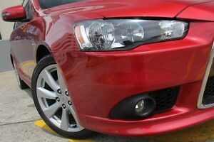 2014 Mitsubishi Lancer CJ MY15 XLS Red 6 Speed CVT Auto Sequential Sedan Wolli Creek Rockdale Area Preview
