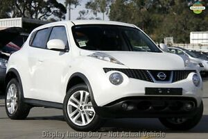 2014 Nissan Juke F15 MY14 ST 2WD Ivory Pearl 1 Speed Constant Variable Hatchback Mornington Mornington Peninsula Preview
