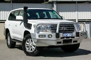 2008 Toyota Landcruiser VDJ200R VX (4x4) White 6 Speed Automatic Wagon Cannington Canning Area Preview