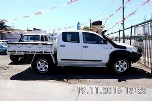 2013 Toyota Hilux KUN26R MY12 SR Double Cab White 4 Speed Automatic Utility Fawkner Moreland Area Preview