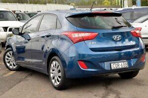 2013 Hyundai i30 GD Active Blue 6 Speed Sports Automatic Hatchback