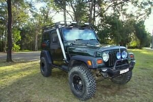 1997 Jeep Wrangler Coupe Springwood Blue Mountains Preview
