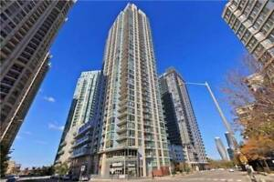 Beautiful 1 Bed 1 Bath Condo in Mississauga Square One Area