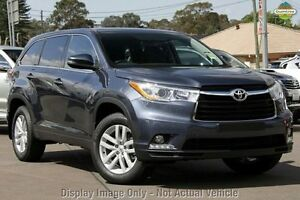 2014 Toyota Kluger GSU50R GX 2WD Blue 6 Speed Sports Automatic Wagon Cannington Canning Area Preview