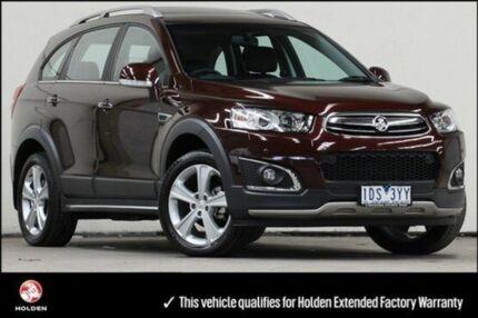 2014 Holden Captiva CG MY14 7 LTZ Dark Burgundy 6 Speed Auto Seq Sportshift Wagon Vermont Whitehorse Area Preview