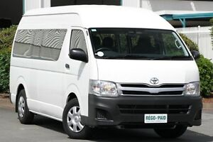 2013 Toyota Hiace KDH223R MY12 Commuter High Roof Super LWB White 4 Speed Automatic Bus Acacia Ridge Brisbane South West Preview