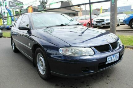 2001 Holden Commodore VX Equipe Blue 4 Speed Automatic Sedan West Footscray Maribyrnong Area Preview