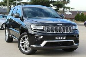 2014 Jeep Grand Cherokee WK MY14 Summit (4x4) Black 8 Speed Automatic Wagon Lansvale Liverpool Area Preview