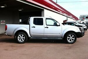 2013 Nissan Navara D40 S5 MY12 ST-X 550 Silver 7 Speed Sports Automatic Utility Northbridge Perth City Area Preview