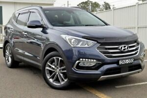 2016 Hyundai Santa Fe DM3 MY17 Highlander Blue 6 Speed Sports Automatic Wagon Gosford Gosford Area Preview