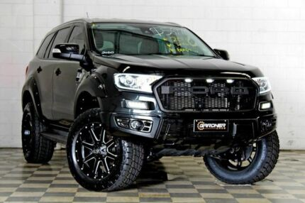 2016 Ford Everest UA Trend Black 6 Speed Automatic Wagon Burleigh Heads Gold Coast South Preview