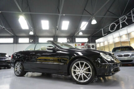 2004 Mercedes-Benz CLK320 A209 Elegance 5 Speed Auto Touchshift Cabriolet Port Melbourne Port Phillip Preview