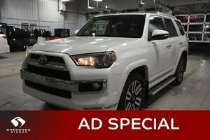2015 Toyota 4Runner SR5 LIMITED 4X4 Navigation (GPS),  Leather,