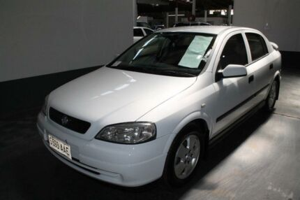 2003 Holden Astra TS CD White 5 Speed Manual Sedan Ottoway Port Adelaide Area Preview