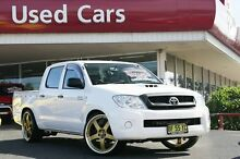 2009 Toyota Hilux KUN16R MY10 SR White 5 Speed Manual Utility Liverpool Liverpool Area Preview