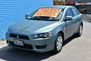 2009 Mitsubishi Lancer CJ MY09 ES Blue 6 Speed Constant Variable Sedan Enfield Port Adelaide Area Preview