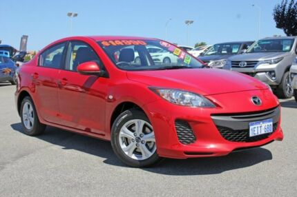 2013 Mazda 3 BL MY13 Neo Red 5 Speed Automatic Sedan Hillman Rockingham Area Preview