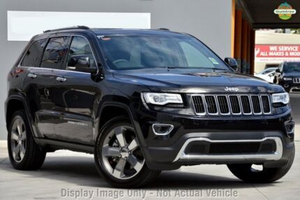 2015 Jeep Grand Cherokee WK MY15 Limited Brilliant Black 8 Speed Sports Automatic Wagon Chatswood West Willoughby Area Preview