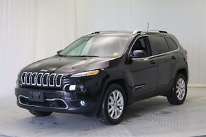 2016 Jeep Cherokee Limited 4WD *Navigation-Heated Seats-Leather*