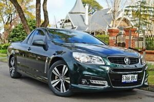2014 Holden Ute VF MY14 SS Ute Storm Green 6 Speed Manual Utility Medindie Walkerville Area Preview