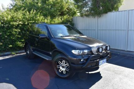 2004 BMW X5 E53 MY04 d Steptronic Black 6 Speed Sports Automatic Wagon Devonport Devonport Area Preview
