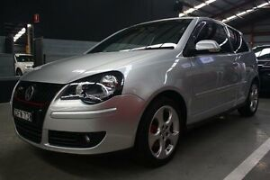 2006 Volkswagen Polo 9N MY2006 GTi Silver 5 Speed Manual Hatchback Maryville Newcastle Area Preview