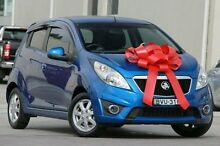 2011 Holden Barina Spark MJ MY11 CD Blue 5 Speed Manual Hatchback Pennant Hills Hornsby Area Preview