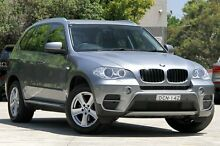 2012 BMW X5 E70 MY12 Upgrade xDrive 30D Grey 8 Speed Sequential Auto Wagon Burwood Burwood Area Preview
