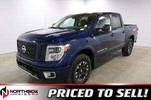 2018 Nissan Titan 4X4 PRO-4X CREW CAB BIRD EYE CAMERA, BLUETOOTH